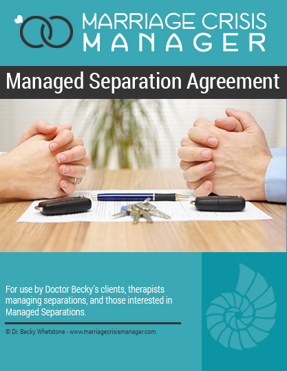 Managed Separation Agreement Marriage Crisis Manager