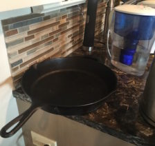 Why I put grocery carts away and leave my skillet on the kitchen counter.