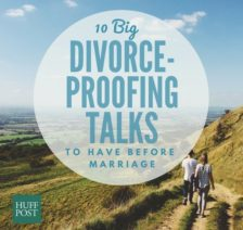 10 Big, Divorce-Proofing Talks To Have Before Getting Married